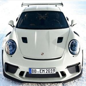 Porsche 991 2 Gt3rs Style Hood W Air Intake Scoops For 991 Turbo