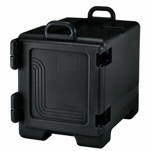 Cambro Upc300110 Black Front Load Full Size Food Pan Camcarriers