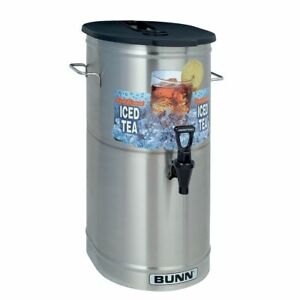 Bunn 34100 0002 Tdo 4 Iced Tea Dispenser With Brew Thru Lid