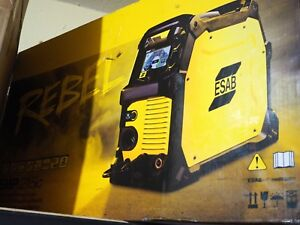 Esab Rebel Multi process Welder Mig stick tig Emp 215ic 0558102240
