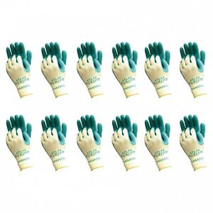 Atlas 310 Grip Multi purpose X small Xs Gardening Nylon Work Gloves 12 pairs