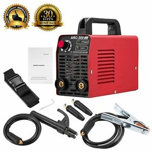 Arc Welder 110v 200amp Welding Machine Igbt Inverter Ac dc Mini Electric Welders