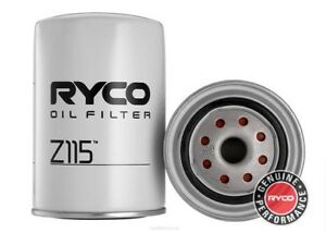 Ryco Oil Filter For Nissan Patrol 1992 1997 4 2 D Gq Cab Chassis Diesel Z115