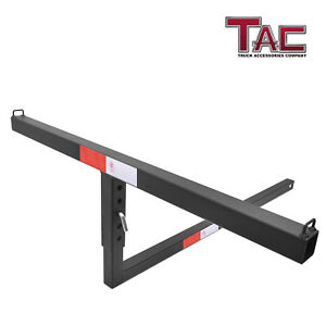 Adjustable 2 Universal Truck Bed Hitch Extender For Ladder Rack Canoe Kayak