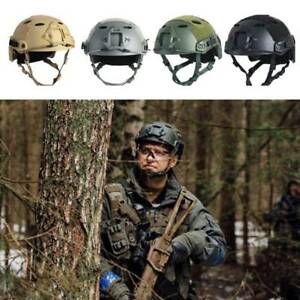 US Men Tactical Military Combat Helmet Head CS Fast Airsoft Paintball Protection