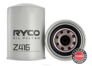 Ryco Oil Filter For Nissan Patrol 1992 1997 2 8d Gq Cab Chassis Diesel Z416