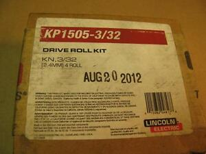 Lincoln Kp1505 3 32 Drive Roll Wire Guide Kit For Lf74 Ln10 Dh10 Wire Feeders
