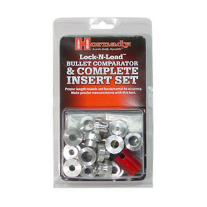 Hornady Lock n Load Bullet Comparator and Complete Insert Set