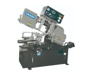 New Sharp Sw 100a Automatic Bandsaw 1982