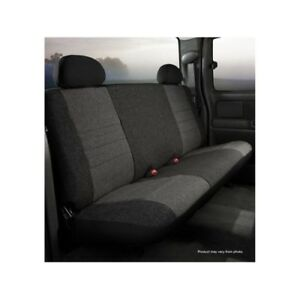 Fia Oe39 2 Charc Seat Cover Tweed Frt Bench Seat For 1995 2001 Dodge Ram 1500