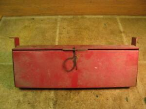 International Farmall Tractor Tool Box 706 806 856 1066 966