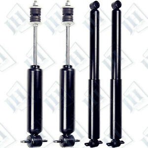 Fit Chevy Blazer S10 Gmc Jimmy Sonoma Rwd 2wd 2 2l 4 3l Front Rear Shocks