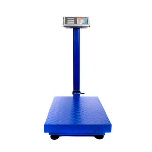 300kg 661lb Hd Backlit Lcd Digital Personal Floor Postal Platform Scale Weight