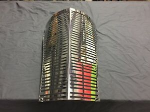 1938 38 Chevrolet Chevy Ss Stainless Steel Gangster Grille