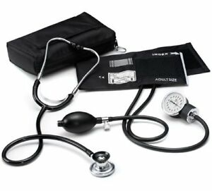 Aneroid Sphygmomanometer Sprague Lite With Nurse Kit Color Black