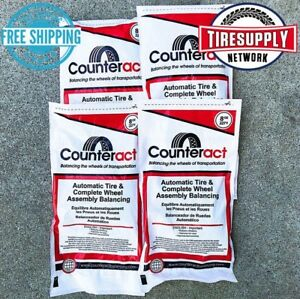 Ca8 Counteract Tire Balance Drop In Bead Bags 8 Oz 4 Units