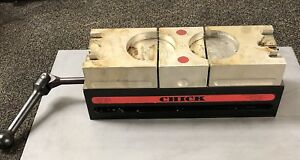 4 X 12 Chick Double Lock Cnc Milling Vise
