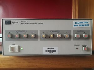 Hp Agilent 11713a Attenuator Switch Driver