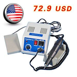 Dental Lab Handpiece Drill Polish polishing polisher Marathon Micro Motor 35krpm