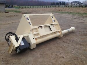 Skid Steer Attachments Filtrexx Sock Machine erosion Control
