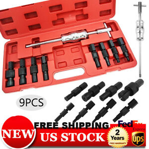 9pc Blind Hole Pilot Bearing Puller Internal Extractor Removal W Slide Hammer S