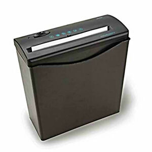 Cut Paper Shredder Destroy Credit Card Heavy Duty Business Home Office Black New
