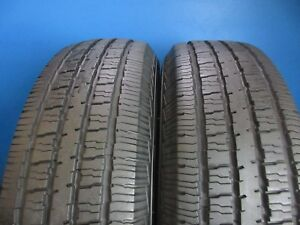 2 Used Americus Commercial L T 225 75 16 9 32 9 10 32 High Tread 1421b
