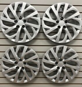 New 2017 2018 Toyota Corolla 16 Silver Hubcap Wheelcover Set