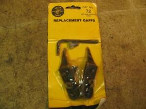 Klein No 72 Replacement Gaffs Spikes Pole Climbers