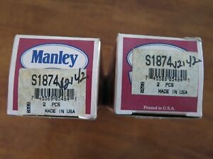 Engine Intake Valve Manley S1874 Lot Of 4 Nos 12a2 1