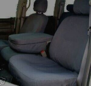 Dodge Ram 2002 2005 Seat Covers Front 40 20 40 Charcoal