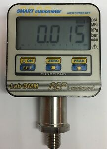 Lab dmm Digital Pressure Gauge Smart Manometer By Aep Transducers 0 50bar