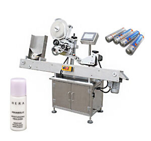 Automatic Small Round Bottle Labeling Machine For Battery Cream Packing By Sea