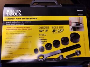 Klein Knockout Punch Set With Wrench Model 53732 sen