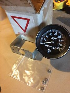 Vintage Nos Stewart Warner 160 Mph Speedometer Hot Rat Rod Gasser Race D 550 hh