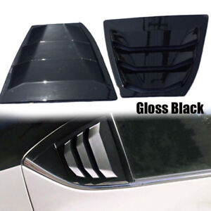 Panel Window Side Louvers Vent Fit For Mazda3 4d 2014 2018 1pair Rear New Nice