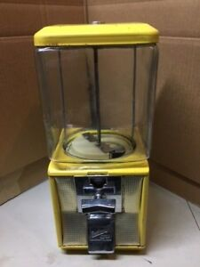 Antique Glass Northwestern Model 60 Ten Cent Nut Gum Antique Vending Machine