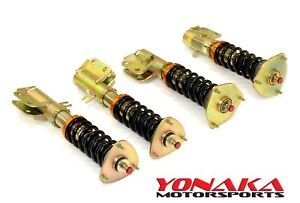 Yonaka For Subaru Impreza Wrx 02 07 04 Sti Coilovers Shocks Springs Struts