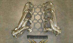 Ford Street Rod 260 289 302 351w 5 0 Stainless Steel Exhaust Headers Return 2nds