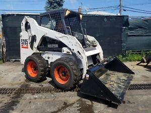 2010 Bobcat S205 Skid Steer Loader Orops Turbo In Nyc
