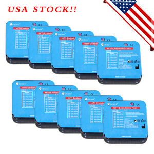 60 Pcs Dental Endo Super Niti Files Rotary Root Canal Engine Use Large Taper Usa