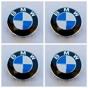 Set Of Four Center Wheel Caps Hubcaps Fits Bmw 68 Mm 2 67 Inch 36136783536
