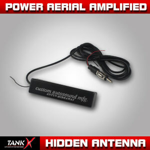 Stereo Radio Electronic Hidden Antenna Fm Am Amplified Hot Car Motorcycle