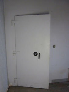 Diebold Vault Safe Door Trim Casing Old Bank