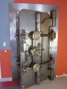 Mosler Vault Safe Door Hardware Accessories Etc Antique Old Bank
