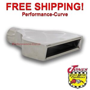 Stainless Steel Exhaust Tip Camaro 2 25 Inlet 8 X 2 25 Out