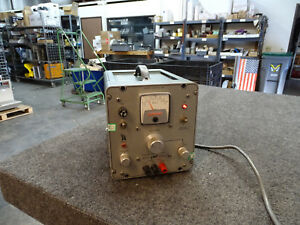 Power Designs Model 3650 s 0 36v 0 5a Dc Power Supply Free Shipping