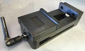 6 Precision Cnc Vise With Jaws And Handle B 10