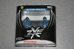 Sylvania Silverstar Zxe 9003 h4 Pair Set Headlight Bulbs Xenon Fueled New