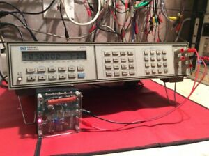 Hp 3457a Multimeter 5 5 Digit With Rear Binding Posts Used Tested Ships Free